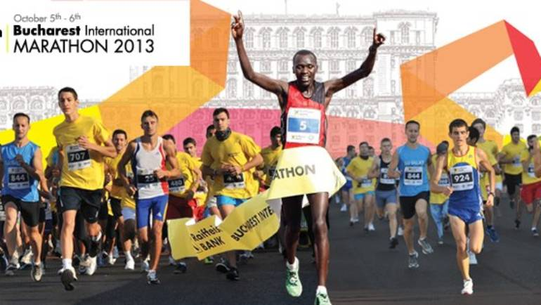 Bucharest International Marathon 2013