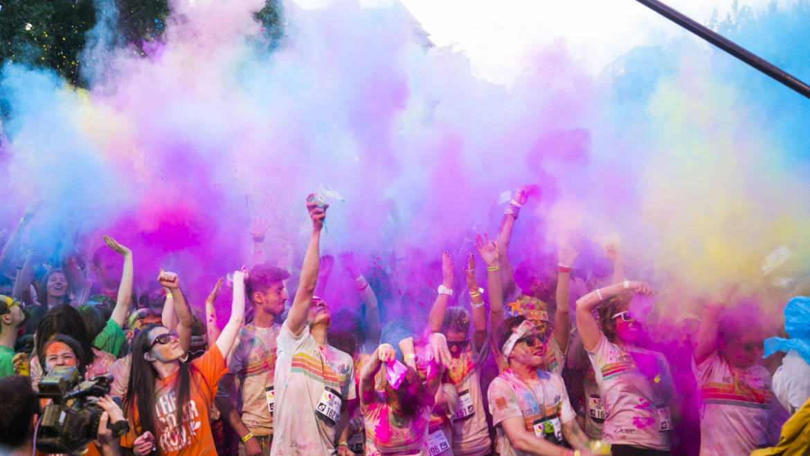 Color Run revine weekendul acesta in Bucuresti